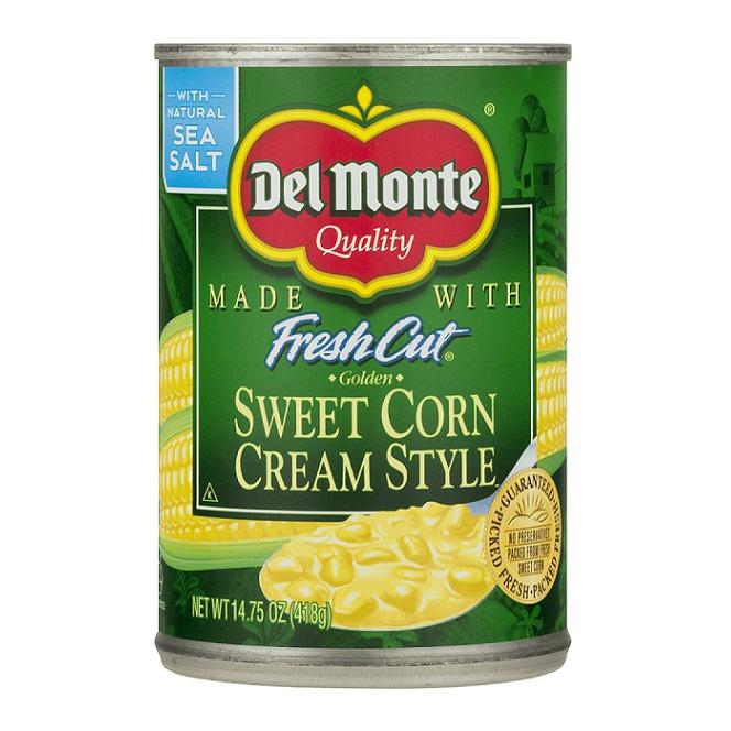DELMONTE Sweet Corn Cream Style 14.75 OZ