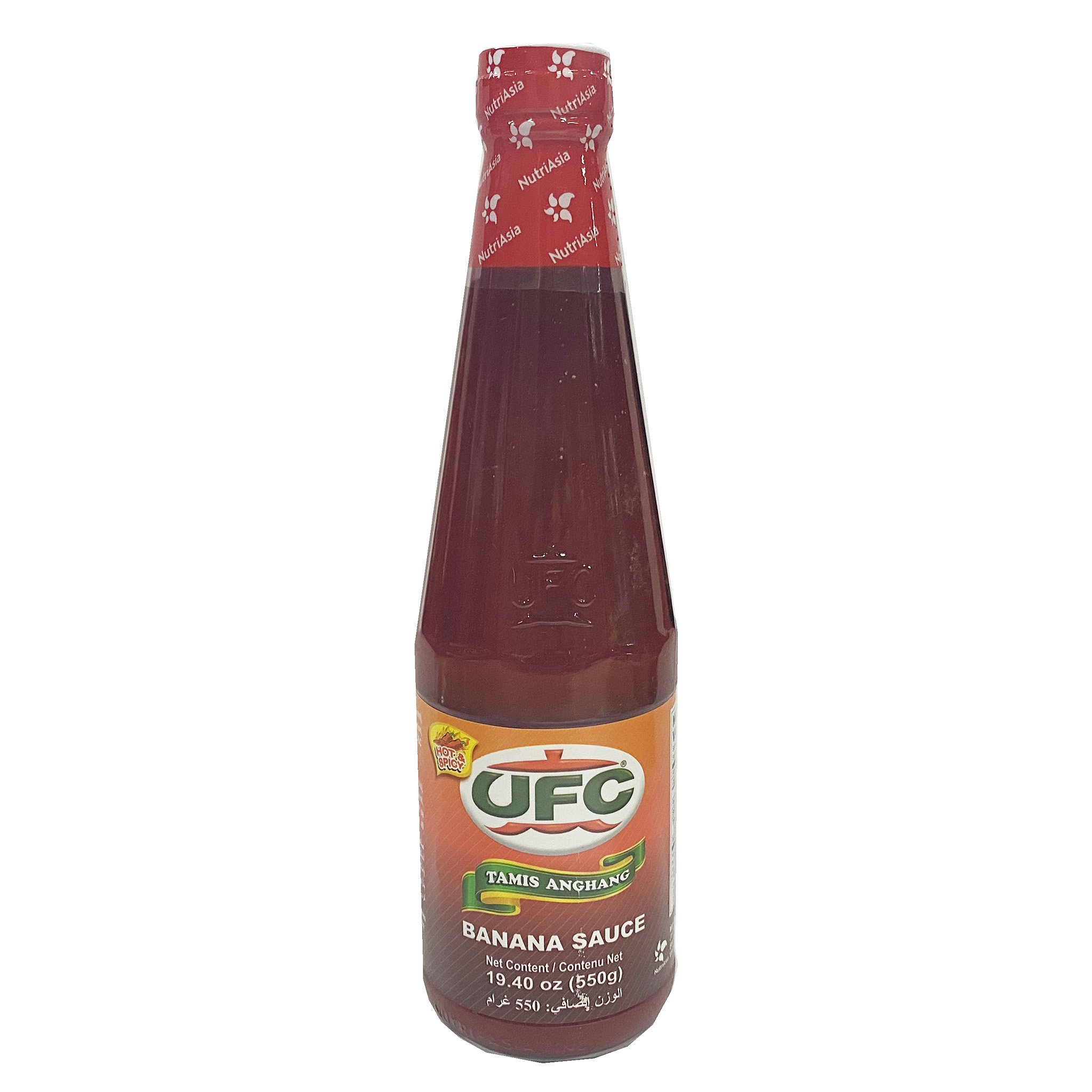 medium ufc hot spicy banana sauce 1940 oz