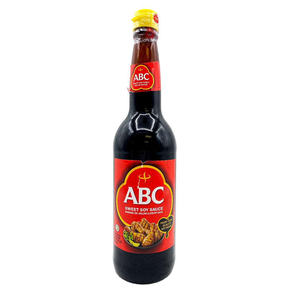 ABC Sweet Soy Sauce Kecap Manis 21 FL OZ