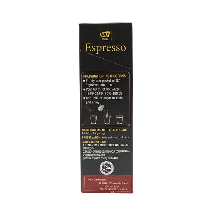 medium g7 espresso instant coffee arabica flavor 13 oz x TEEDCfgy