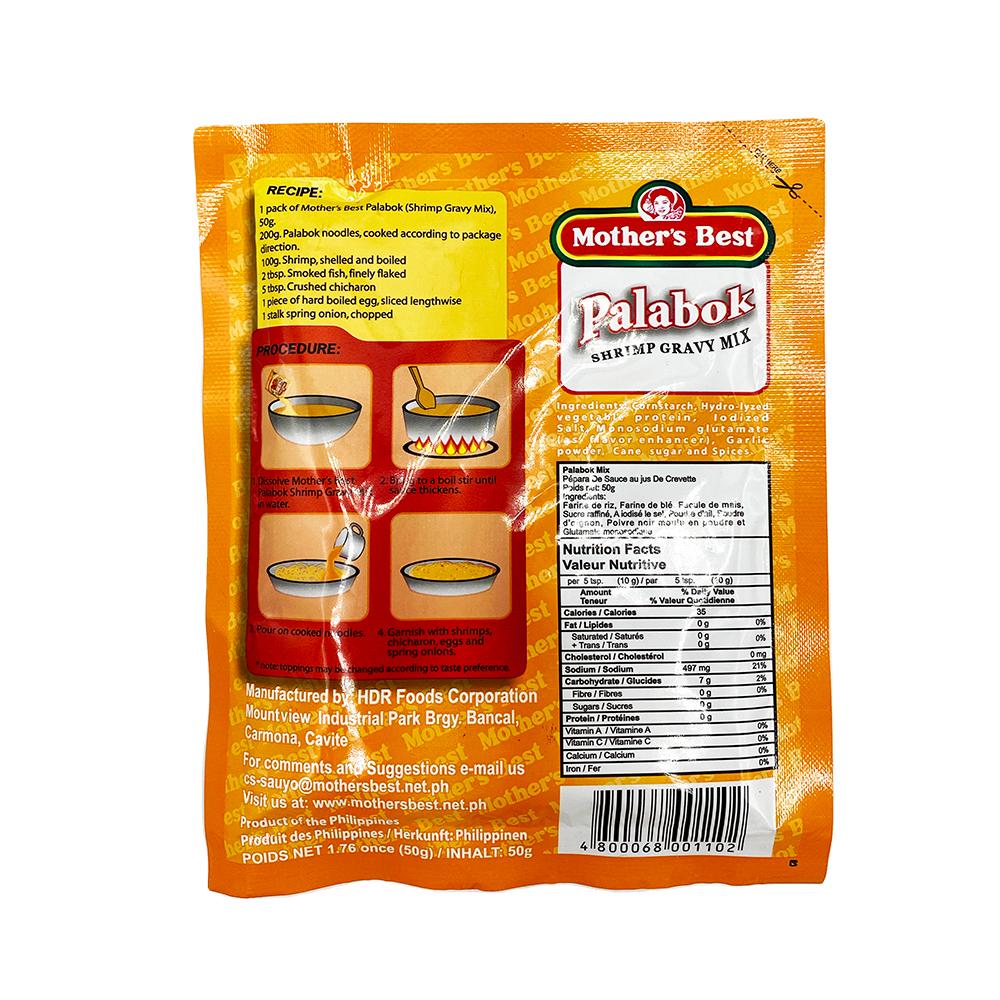 medium mothers best palabok shrimp gravy mix 176 oz jBCE1Lfg4t