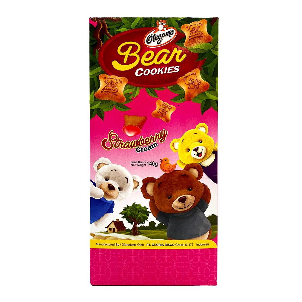 medium olegamo bear strawberry cream cookies 140 gr%09 M2DuI32Bp