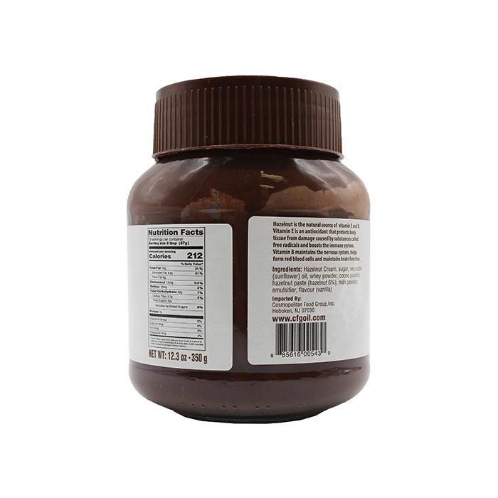 medium palermo chocolate spread hazelnut 123 oz BmW8tzW