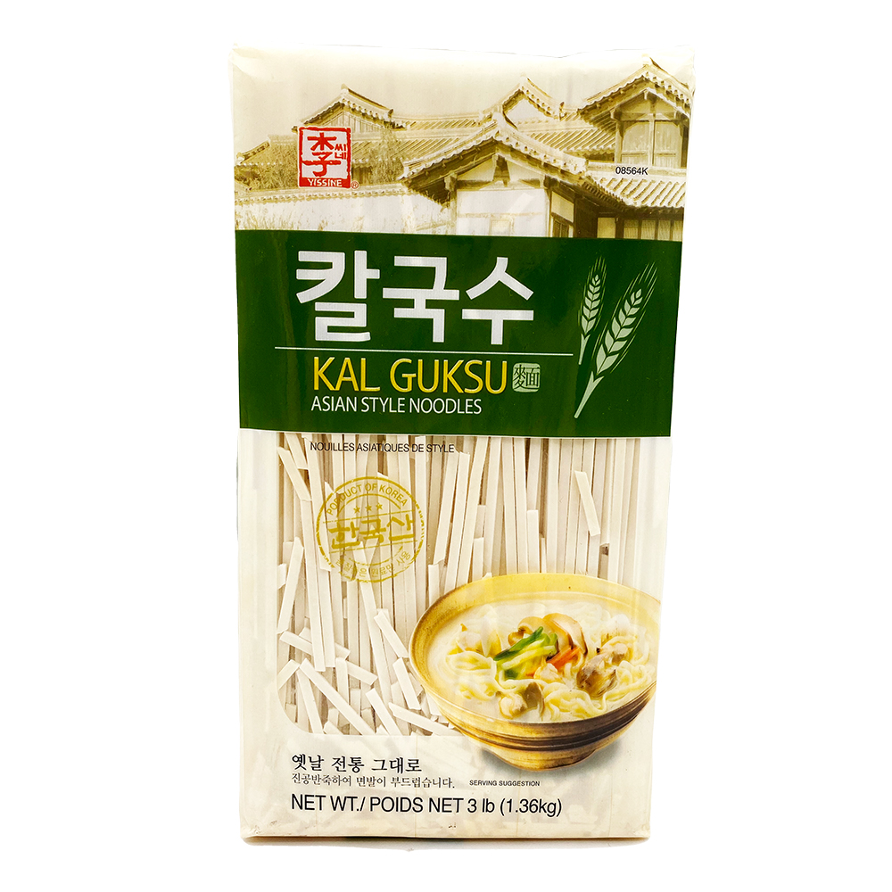 YISSINE Kal Guksu Asian Style Noodles 3 LB