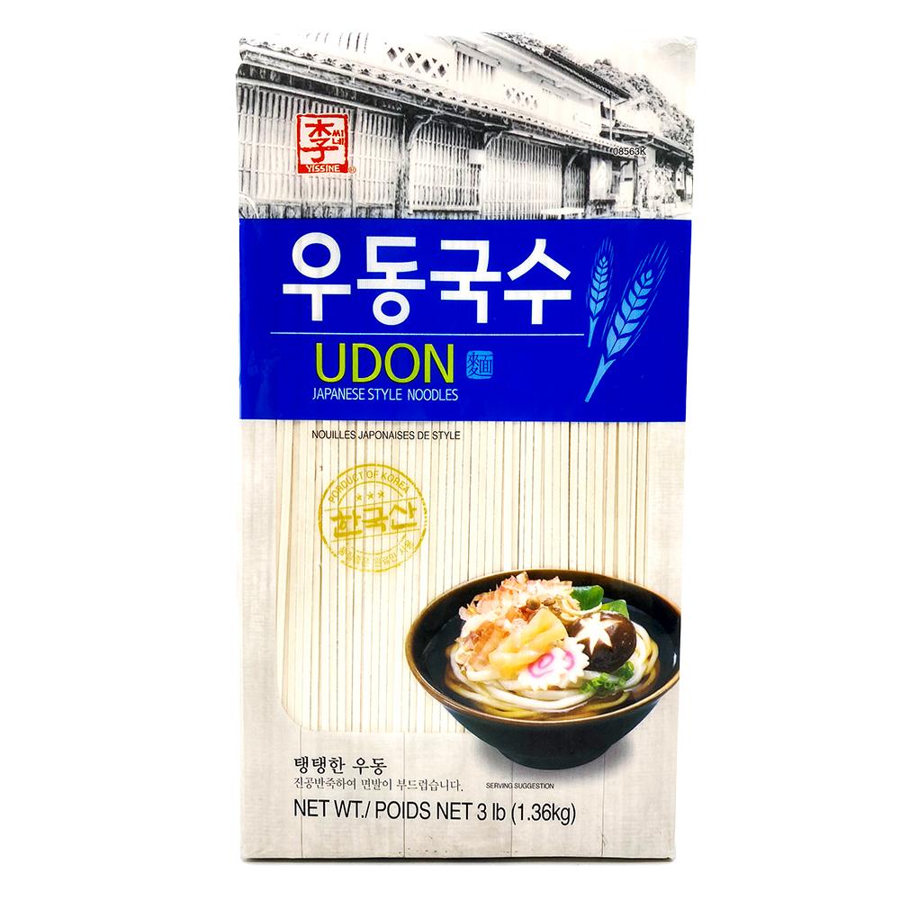 YISSINE Udon Japanese Style Noodles 3LB