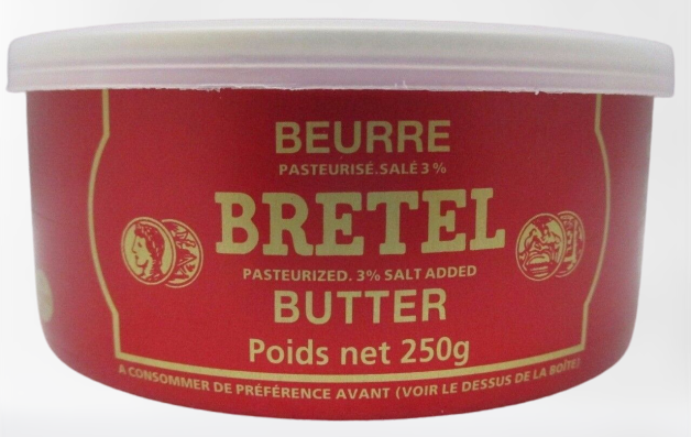 medium beurre bretel butter