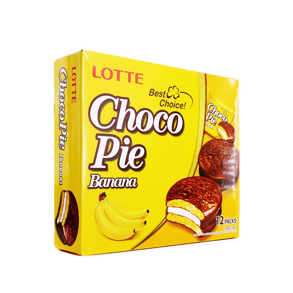 medium lotte choco pie banana 12 packs lAo7I jNub