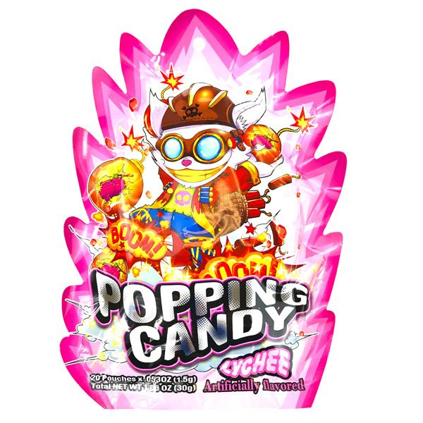 YUHIN Popping Candy Lychee Flavored 1.06 OZ