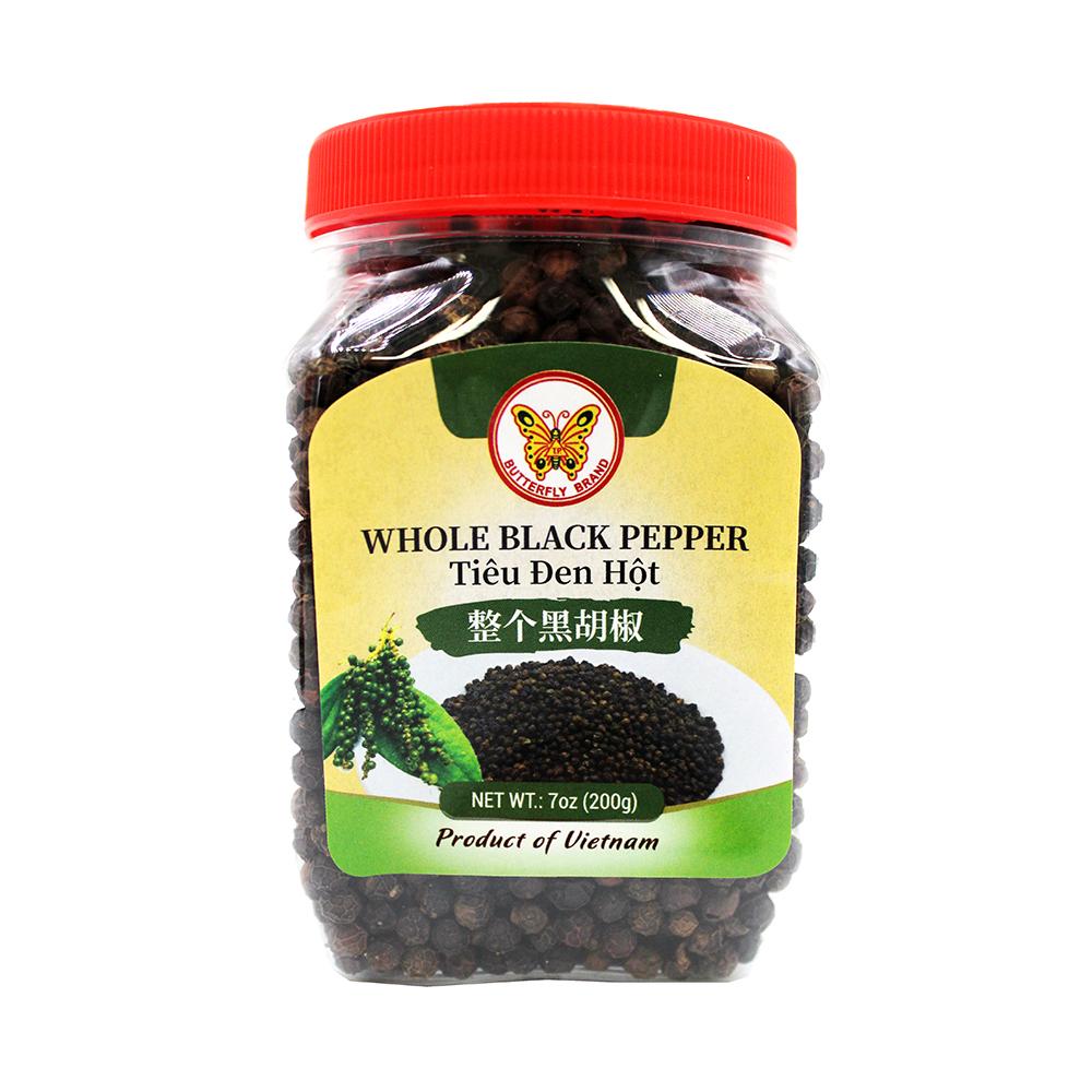 BUTTERFLY Whole Black Pepper / Tieu Den Hot 7 Oz