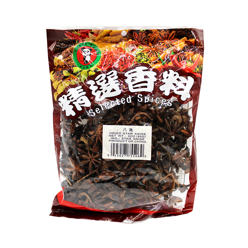 HAPPY PANDA Dried Star Aniseed 3 OZ