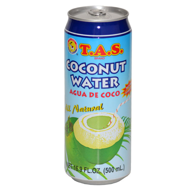T.A.S All Natural Coconut Water 16.9 OZ