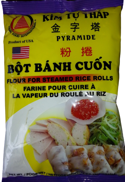 TRONG FOOD Pyramide Flour For Steamed Rice Rolls 12 Oz
