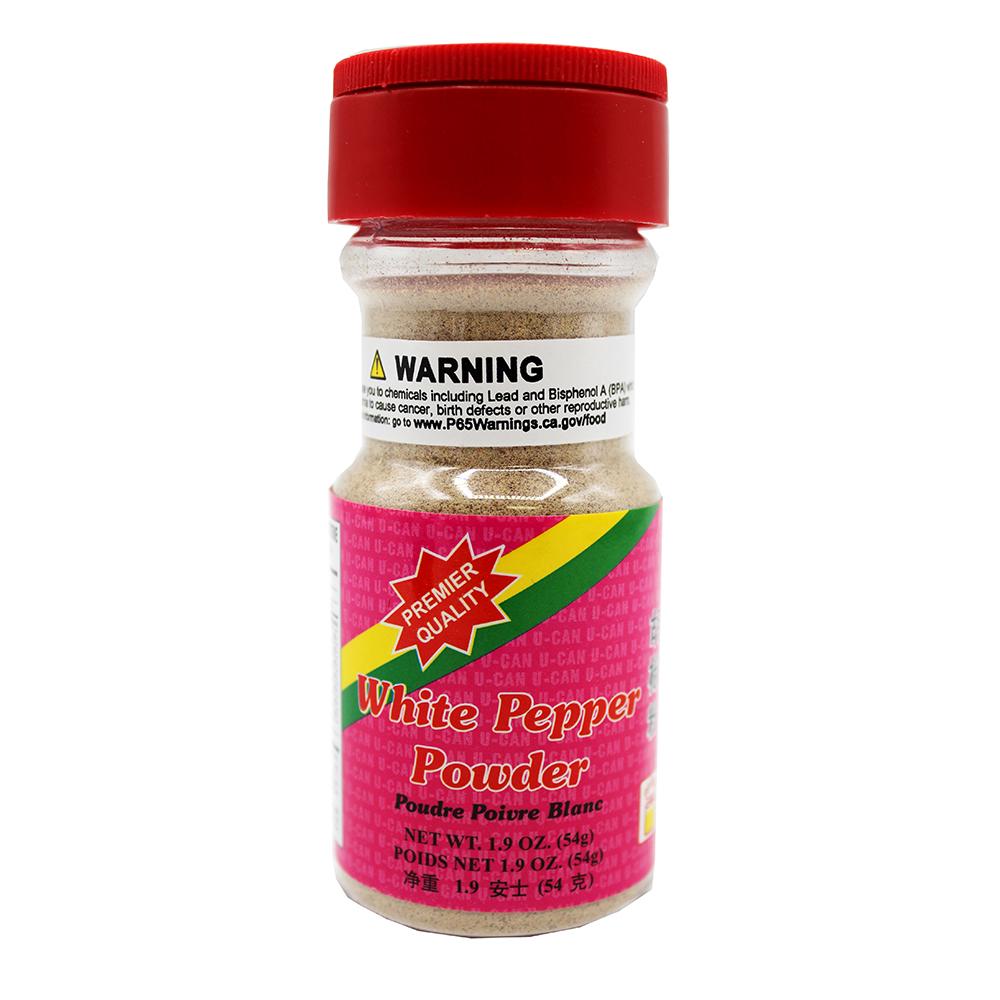 U-CAN White Pepper Powder 1.9 OZ