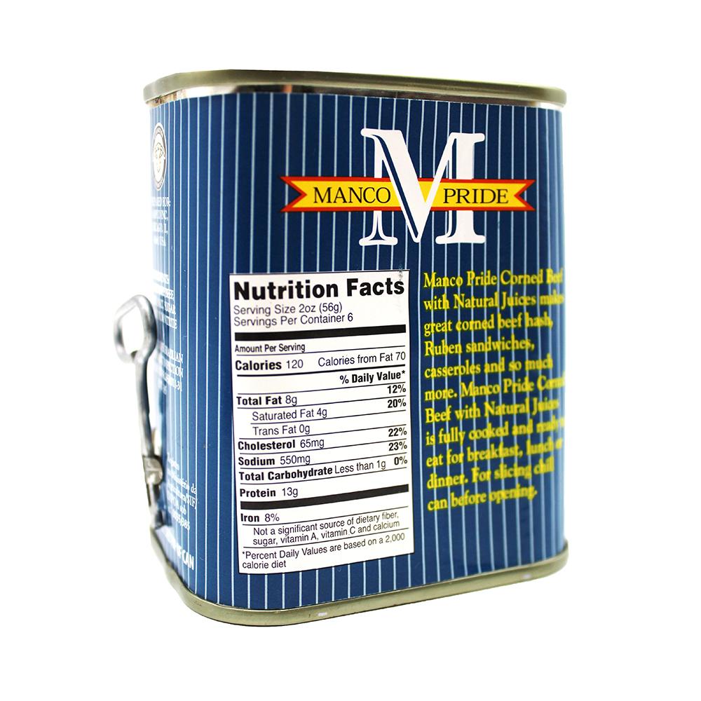 medium manco pride corned beef w natural juice 12 oz UHiDvf3mz