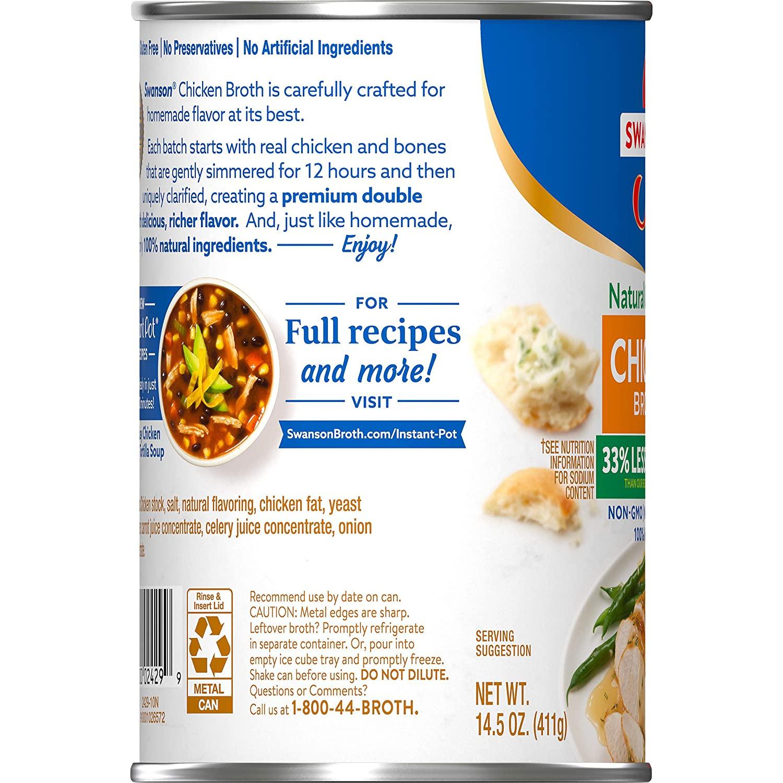 medium swanson chicken broth less sodium 145 oz 4WgN2w06K4