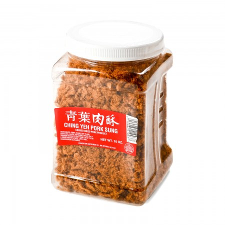 medium ching yeh pork sung red 16 oz XoB m9G7U